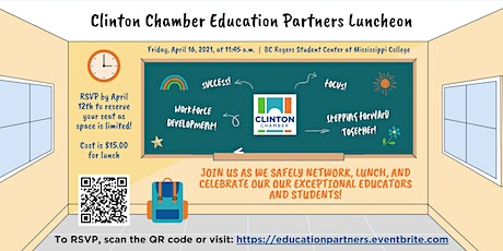 Clinton Chamber Education Partners Luncheon 2021 tickets