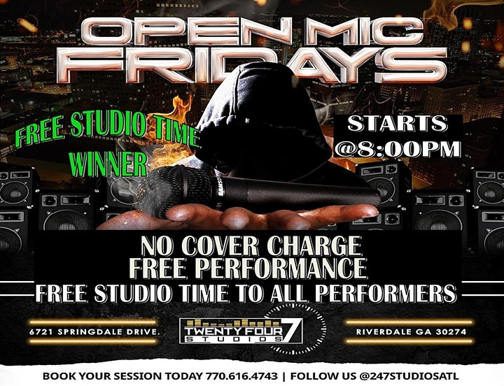 Open Mic Friday's image