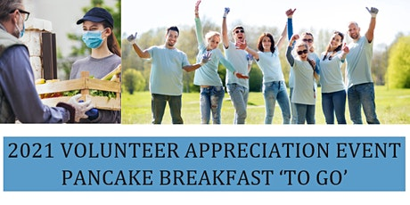 Volunteer Appreciation Take-Out Pancake Breakfast tickets