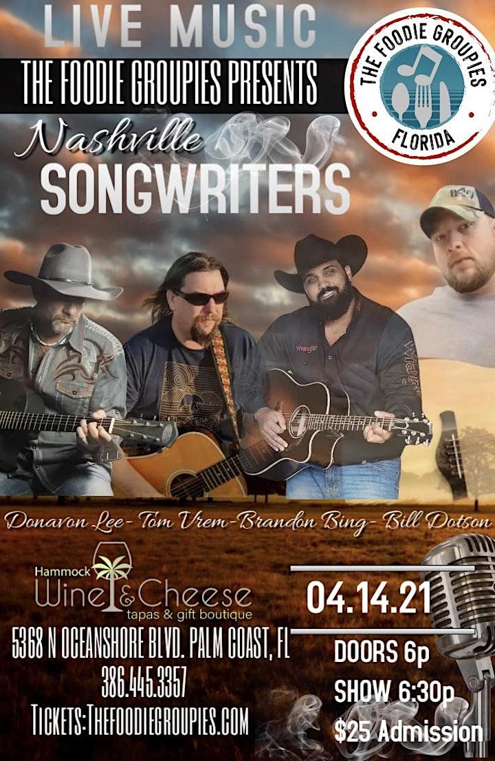 Nashville Songwriters Live at Hammock Wine image