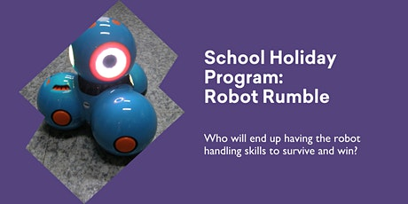 Robot Rumble @ Burnie Library tickets