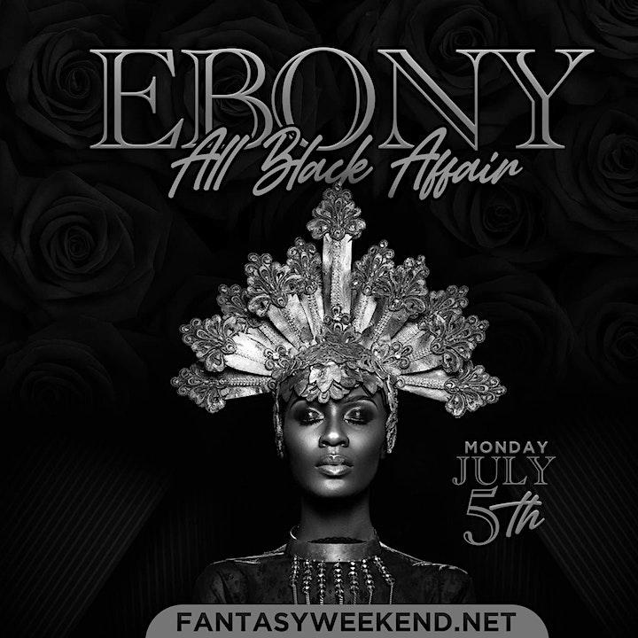Event #6  EBONY  - ALL BLACK FINALE image