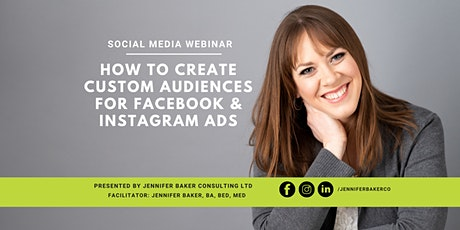 How to Create Custom Audiences For Facebook & Instagram Ads tickets