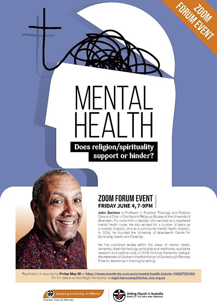 Mental Health Forum image