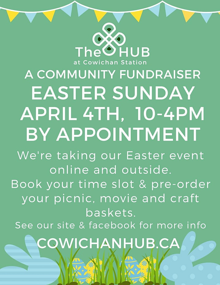 Easter Community Fundraiser for the HUB at Cowichan Station image