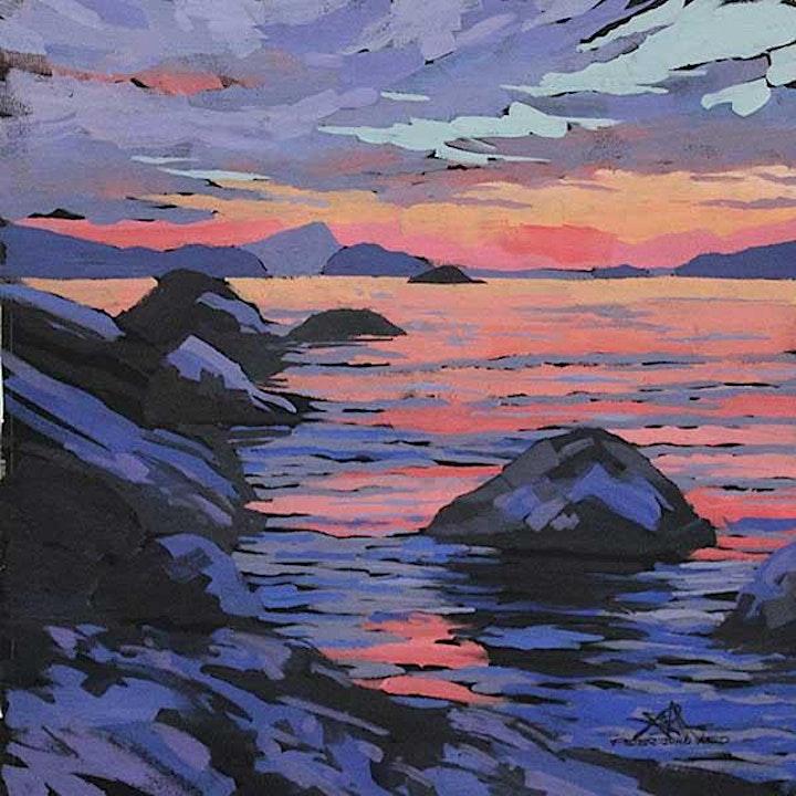 Step Acrylic Painting with Peter John Reid image