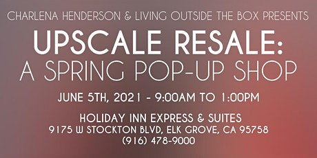 Upscale Resale: A Summer Pop Up Shop tickets