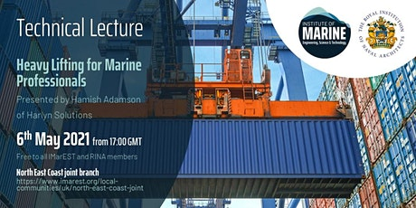 WEBINAR: Heavy Lifting for Marine Professionals tickets