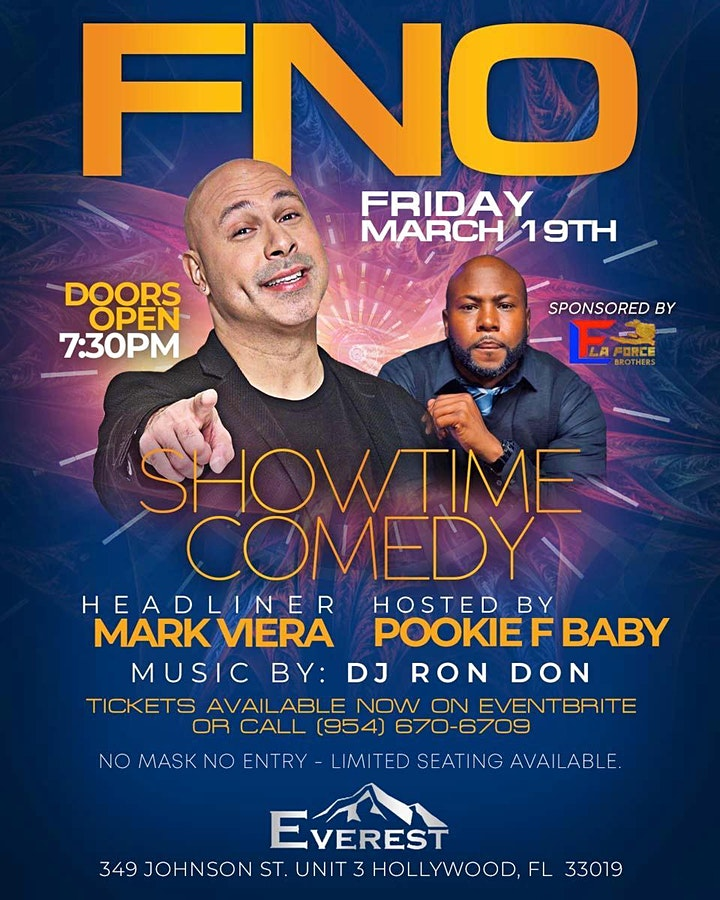 SHOWTIME COMEDY CLUB NIGHTS FEATURING MARK VIERA image