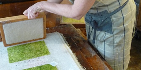 Papermaking and Embedding Nature Finds with Mandy Hillson tickets