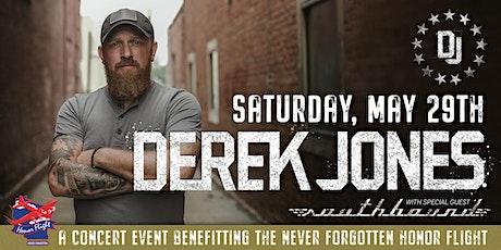 Never Forgotten Honor Flight Benefit Concert with Derek Jones tickets