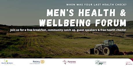 Men's Health & Wellbeing Forum tickets