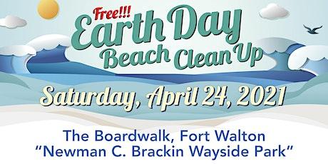 2021 EARTH DAY BEACH CLEANUP - The Boardwalk Okaloosa Island tickets