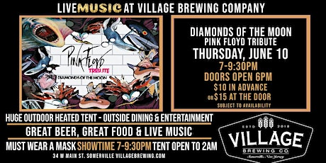 Diamonds of the Moon: The Pink Floyd Tribute @ Village Brewing Company! tickets
