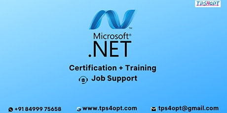 Microsoft .Net Online Training l TPS4OPT tickets
