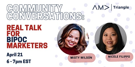 Community Conversations: Real Talk for BIPOC Marketers tickets