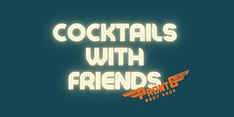 Cocktails with Friends at Podium Finish Café boletos