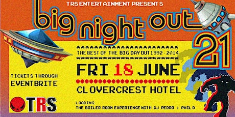 The Red Skull's Big Night Out '21: The Best of the Big Day Out 1992-2014 tickets