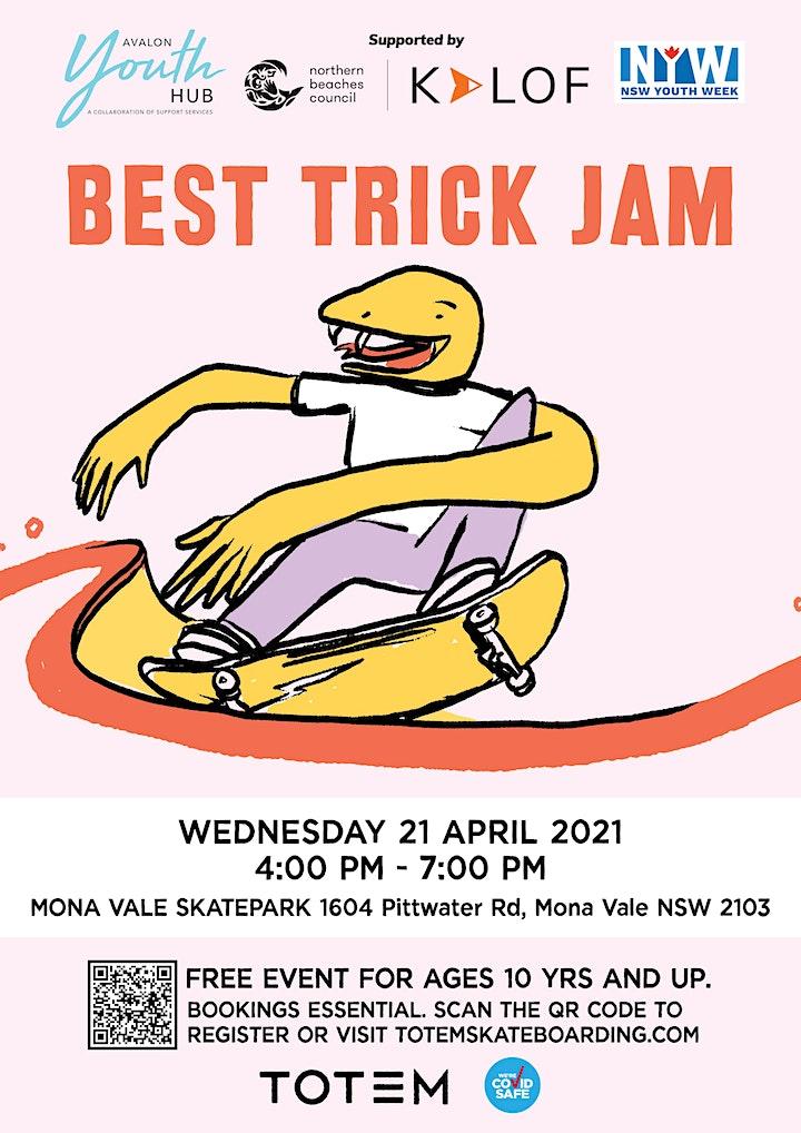 Mona Vale Skatepark - Best Trick Skate Jam image