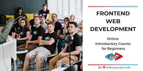 Frontend Web Development (Online Introductory Course for Beginners) tickets