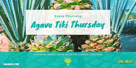 Agave Tiki Thursday tickets