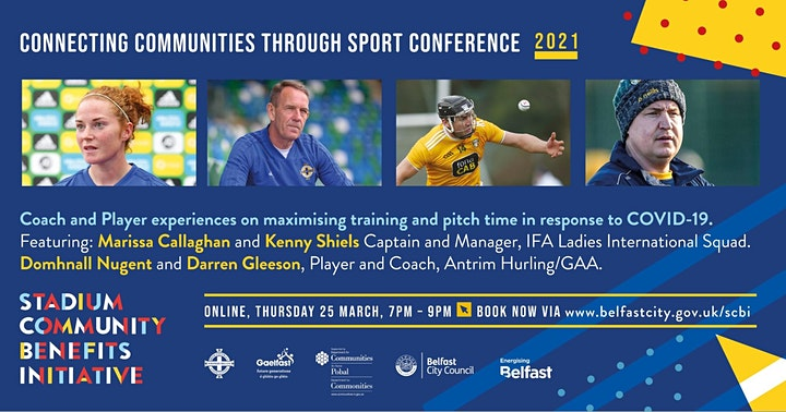 Stadium Community Benefits Initiative  - Sport in the Community Conference image