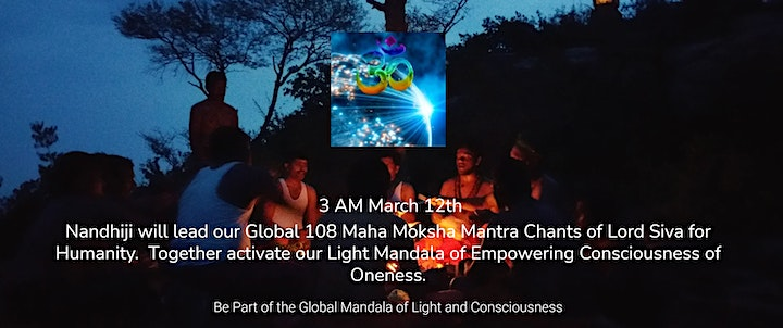 Mahasivratri World Yogi Day Powerful Blessings, Global Maha Moksha Chant. image