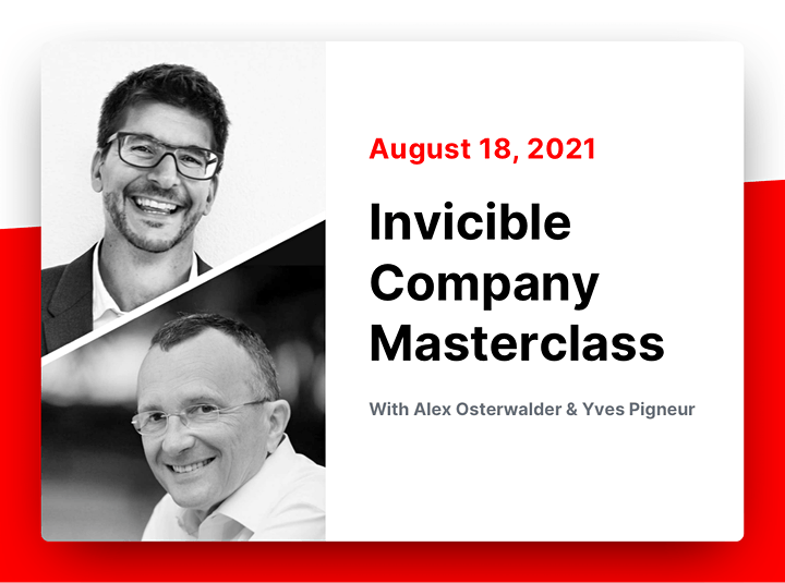 itoday Masterclasses 2021/ Design Sprint / Invincible Company Masterclasses image