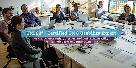 UX360° – Certified UX & Usability Expert, Online tickets