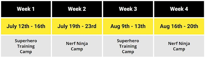 Champion's Creed Summer Camps 2021 image