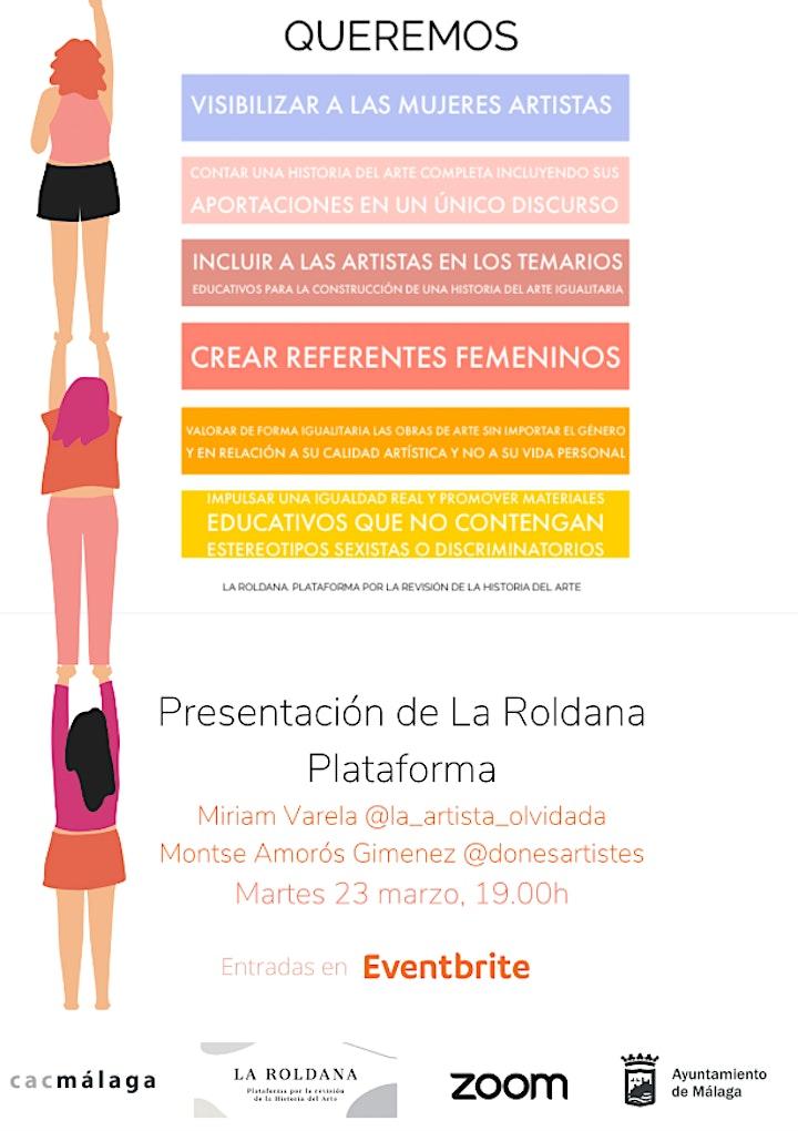 Imagen de Presentación plataforma La Roldana