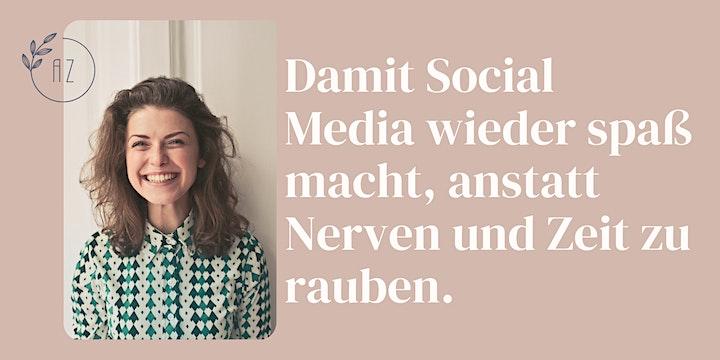 Dein Social Media Workflow ✨ Von der Idee zum fertigen Beitrag: Bild
