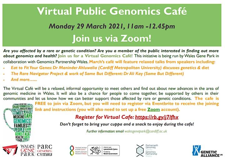 Virtual Public Genomics Cafe image