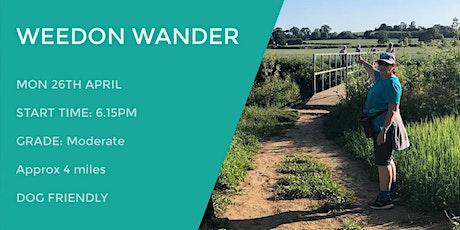 WEEDON WANDER | 4 MILES | MODERATE| NORTHANTS tickets