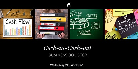 Business Booster : Cash-in-Cash-out : (monthly for members only) tickets