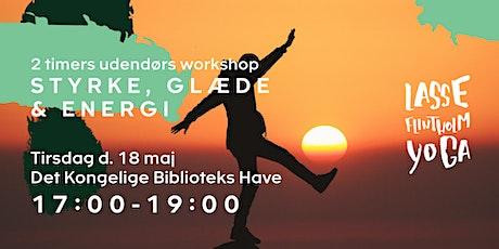 Styrke, glæde & energi - 2 timers udendørs workshop tickets