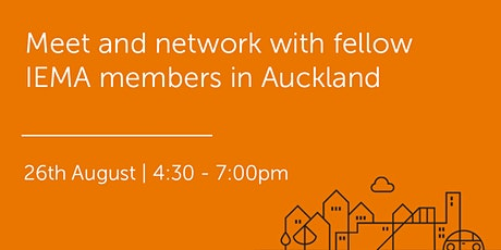 NZ260821 New Zealand: Auckland Networking Event tickets