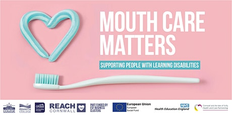 Mouth Care Matters (supporting people with learning disabilities) 20 Apr 21 tickets