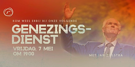Genezingsdienst met Jan Zijlstra tickets