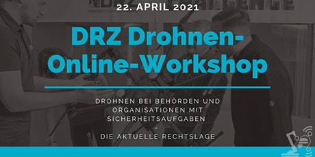 DRZ Drohnen-Online-Workshop 22.04.2021 Tickets