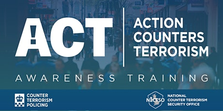 Counter Terrorism Training from the Met Police tickets