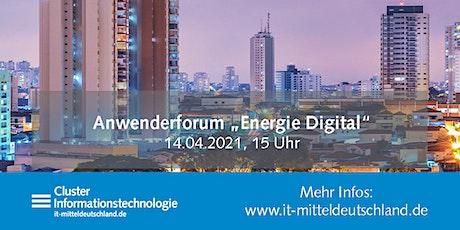 """Anwenderforum """"Energie Digital"""" Tickets"""