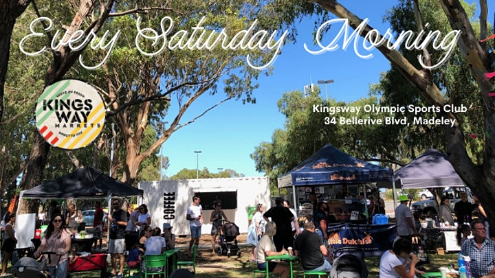 Kingsway Markets - Fresh Produce, Live Music, Breakfast & Gift stalls image