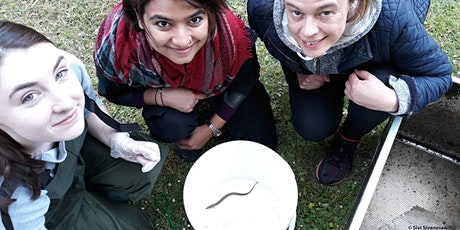 Eel monitoring training with ZSL and KUBAG tickets