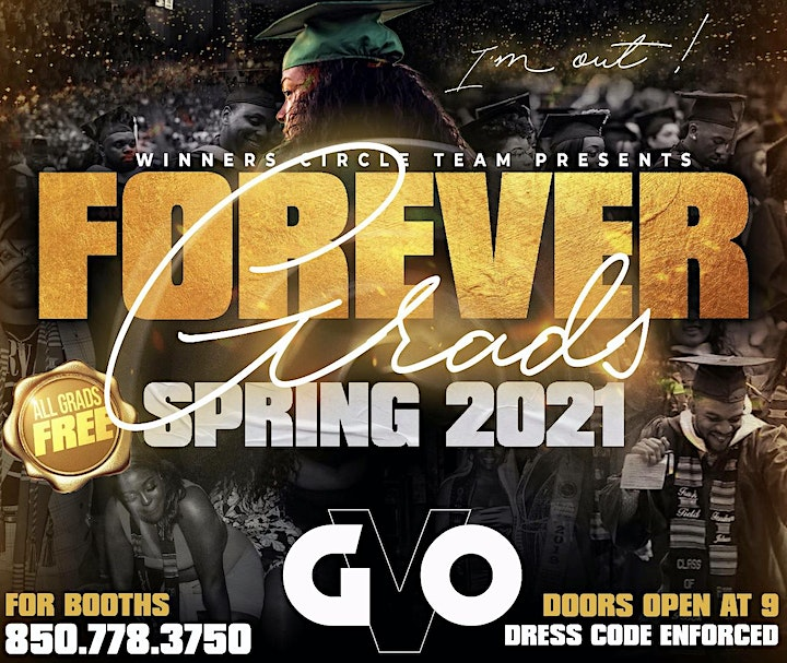Forever Grads Spring 21' Edition Tallahassee Graduation image
