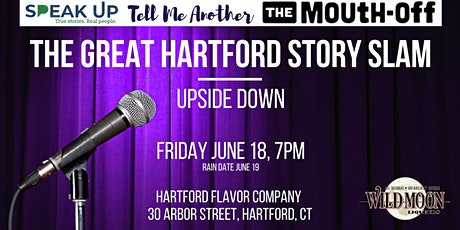 The Great Hartford Story Slam: Upside Down tickets