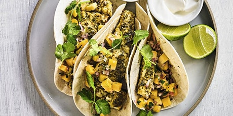 KIDS' WORKSHOP: CHERMOULA FISH TACOS COOKERY CLASS  £15 tickets