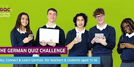 The German Quiz Challenge - Presentation and Workshop biglietti