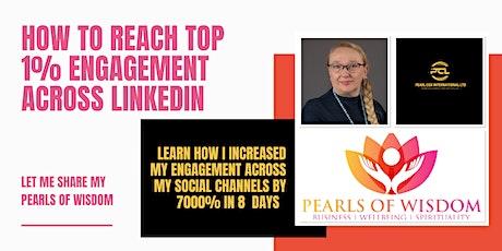 Masterclass in reaching top 1% engagement across LinkedIn tickets