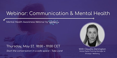Communication and Mental Health│Webinar by women++ tickets
